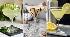 5 recept på drinken Martini