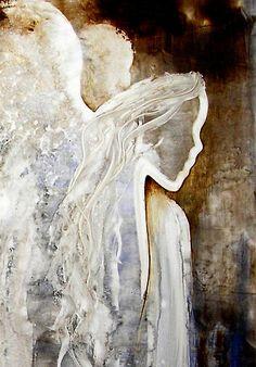 red angel paintings   ReneaL › Portfolio › EN1018 Angel Painting