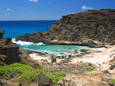 Eternity Beach, Honolulu. A perfect swim! http://www.lotsafunmaps.com/Oahu/Eternity_Beach_and_Halona_Blowhole.html