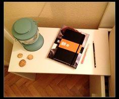 Suspended Bedside Table