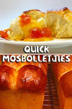 This variation is made with yeast, making it a quick version of the original and is anytime as good as the original. South African Dishes, South African Recipes, Ethnic Recipes, Specialty Foods, What's Cooking, Cute Cakes, What To Cook, Sweet Bread, Bread Baking