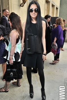 Vera Wang at The Little Black Dress in Paris
