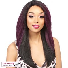 It's a Wig Synthetic Swiss Lace Front Wig HAWA