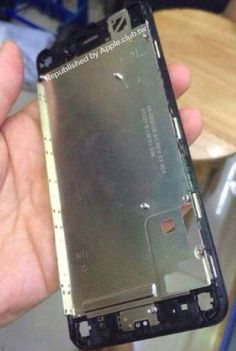 Claimed iPhone 6 Front Frame with LCD Shielding and Home Button Bracket Shown in New Photo - http://www.aivanet.com/2014/07/claimed-iphone-6-front-frame-with-lcd-shielding-and-home-button-bracket-shown-in-new-photo/
