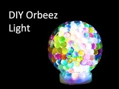 DIY Orbeez Light : Crafty Tube Soak in tonic water and use black light?