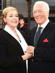 Star Tracks: Monday, March 30, 2015 | SOMETHING GOOD | Captain and Maria Von Trapp – better known as Christopher Plummer and Julie Andrews – pose together before taking in a screening of The Sound of Music at the 2015 TCM Classic Film Festival in L.A. on Thursday.