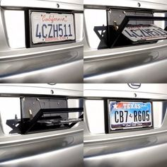 License Plate Flipper – Live Your Secret Agent Dreams - Tap The Link Now To Find Gadgets for your Awesome Ri Top Gadgets, Office Gadgets, Gadgets And Gizmos, Spy Gear, Plate Holder, License Plate Frames, License Plates, James Bond, Car Accessories