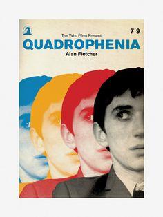 Limited edition Quadrophenia poster by Piper Gates Design Cool Posters, Film Posters, London History, Skinhead, Music Film, Retro Design, Graphic Design, Album, Pop Art