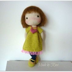 #crochet #crochetdoll #amigurumi #amigurumidoll #madebyrusi #rusidolls