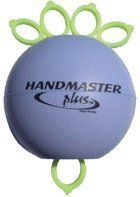 HandMaster Plus - Soft - Purple ball by HandMaster. $16.99. Combines 3 strengthening and balancing exercises into one, working the 9 muscles of the hand. Use the HandMaster in the daily rehabilitation of: carpal tunnel syndrome, tennis or golfer's elbow, osteoarthritis, osteoporosis, RSI, tendonitis, tenosynovitis, dupuytren's contracture, deQuervain's syndrome, diabetes (dialysis), or lymphadenopathy. Can also be used for post-surgical and post-mastectomy, fra...