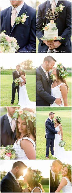 Blush/Peach/Gold Summer Wedding Inspiration  http://krissybreecephotography.com/summer-styled-shoot2016/