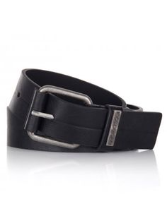 Twisted Soul Aluminium PU Belt Black