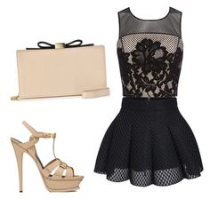 """""""Untitled #50"""" by jalaya06 on Polyvore featuring Coast, Yves Saint Laurent and See by Chloé"""