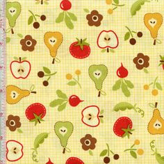 Farm Fresh By Riley Blake Fabrics Color: Meringue   Ref # rileyblake9002cream $8.99    yd.