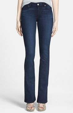 Paige Denim 'Manhattan' Baby Bootcut Jeans (Georgie) available at #Nordstrom