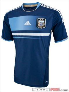 adidas Argentina Away Jersey 2011...$71.99