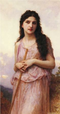 Meditation, 1902, William-Adolphe Bouguereau. Private collection.