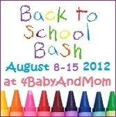 SAVE THE DATE! Back to School Giveaways & Reviews at www.4BabyAndMom.com! Share now to earn extra entries!