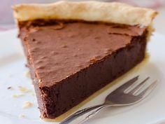 Recette+délicieuse+de+tarte+au+fudge+au+chocolat!