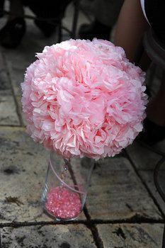 Wedding, Reception, Pink, Ceremony, Diy, Balls, Kissing