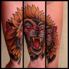 Traditional lion