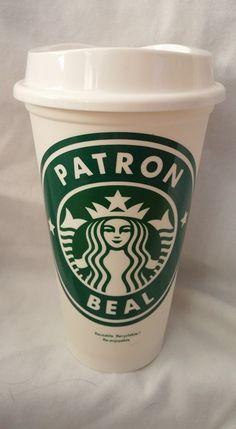 Personalized Starbucks Cup https://www.facebook.com/thequeenbeechic