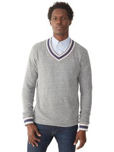 Perfect for layering, this vegan cashmere sweater will keep you stylish every season. - 5 Key Autumn/Winter Mens Fashion Trends #autumn #winter #fashiontrend #trend #men #vegan #veganfashion #AlternativeApparel
