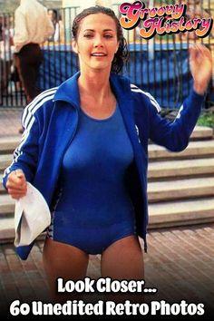 Retro Photos That Captured More Than Expected Lynda Carter bb