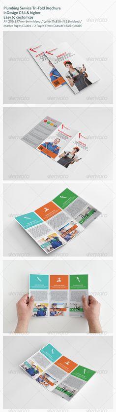 Plumbing+Service+Tri-Fold+Brochure