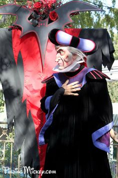 Frollo  Very busy with his duties as the Minister of Justice, Frollo only makes special appearances for Halloween Time.