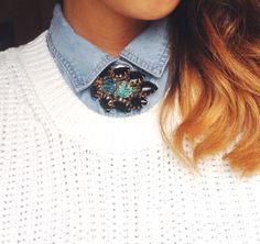 How to wear vintage: One brooch, two ways — Labels and Vintage   A Style & Vintage Blog
