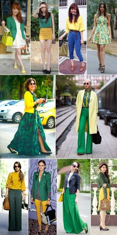 Looks para a Copa 2014 Casual Outfits, Fashion Outfits, Personal Stylist, Her Style, World Cup, Fascinator, Stylists, Costumes, Yellow