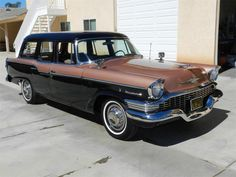 Original Black Plates on a California car. Professional restoration that included rebuilding the entire driveline. This rare wagon is in outstanding conditio... $26,400
