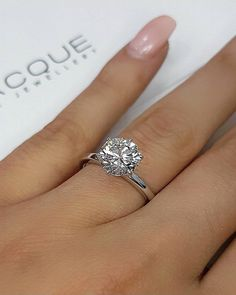 42 Top Round Engagement Rings: Best Rings Ideas %%page%% %%sep%% %%sitename%% Estate Engagement Ring, Timeless Engagement Ring, Round Diamond Engagement Rings, Beautiful Engagement Rings, Antique Engagement Rings, Designer Engagement Rings, Solitaire Diamond, Antique Wedding Rings, Rings Cool