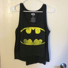 High-Low Batman Tank Top Brand new. Never been worn. Smoke free home. No trades! Bundles discounted. Tops Tank Tops