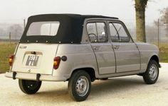 Renault 4 Découvrable Heuliez