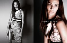 Photo feat. Joan Smalls - Prabal Gurung - Spring/Summer 2015 Ready-to-Wear - Fashion Advertisement | Brands | The FMD #lovefmd