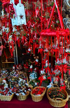 the christmas markets were spectacular im not sure how much i can say about them without giving away my christmas gifts there were ornaments on ornaments