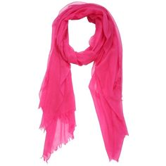 Marchesin Women Super Fine Cashmere Scarf (40.360 RUB) ❤ liked on Polyvore featuring accessories, scarves, fuchsia, cashmere scarves and cashmere shawl