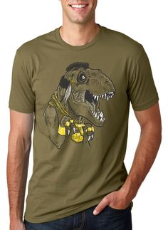 MENS Mr.T-Rex T-Shirt funny hippster tshirt, funny tshirt for guys, back to school, perfect gift for him, his shirt, present size S-5XL by CrazyDogTshirts on Etsy https://www.etsy.com/listing/157101108/mens-mrt-rex-t-shirt-funny-hippster