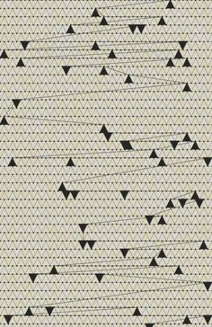 b&w triangle pattern by Joseph Trotto Surface Design, Surface Pattern, Pattern Art, Motifs Textiles, Textile Prints, Textile Patterns, Triangular Pattern, Poster Design, Pretty Patterns