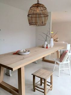 Modern Minimalist Dining Room Design And Decor Ideas Dining Room Lighting, Furniture, Kitchen Interior, Home Kitchens, Interior, Interior Furniture, Vintage Dining Room, Home Decor, Dining Room Inspiration