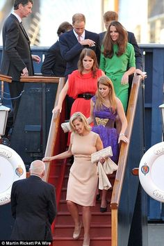 Zara Phillips wedding to Mike Tindall: Kate Middleton joins Royal Yacht Britannia party | Mail Online    For all the latest information on the Royal Yacht Britannia please visit the blog: http://blog.royalyachtbritannia.co.uk/