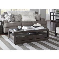 Enjoyable Rosecliff Heights Yelena Coffee Table With Storage Color Machost Co Dining Chair Design Ideas Machostcouk