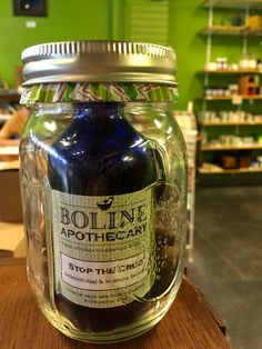 Boline Apothecary, Winter Wellness In A Jar (all handmade: immunity elixir, sore throat lozenges, dry skin salve, and lip balm), $28, http://www.yelp.com/biz/boline-apothecary-limited-columbus