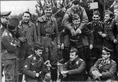 Pilotos españoles de la Escuadrilla Azul. Segunda Guerra Mundial. WWII