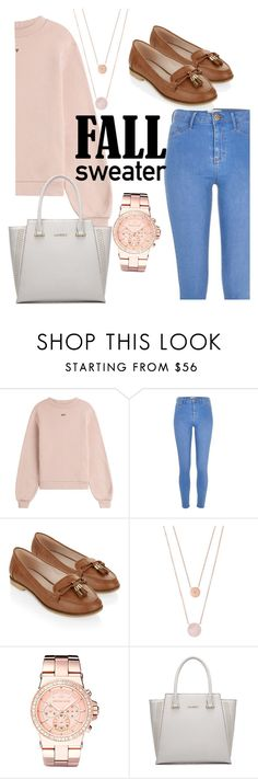 """""""Fall Sweater - Contest"""" by cg18 on Polyvore featuring Off-White, River Island, Accessorize and Michael Kors"""