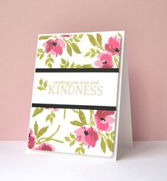 On Friday I arrived home to a lovely package on my doorstep. It was sent from Jennifer McGuire as a way to kick off her Card Tags, I Card, Gift Cards, Card Making Inspiration, Making Ideas, Altenew Cards, Ppr, Friendship Cards, Get Well Cards