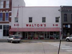 El primer Walmart abierto en 1962