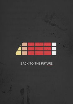 A serie of minimalist movie posters by Yannis Naamane, via Behance